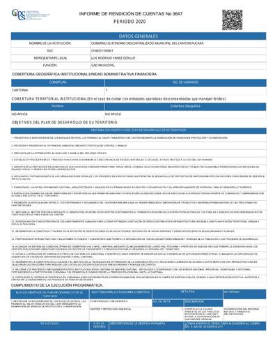 Informe Rendición de Cuentas 2020