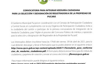 Concurso Público de Méritos y Oposición, impugnación ciudadana y control social